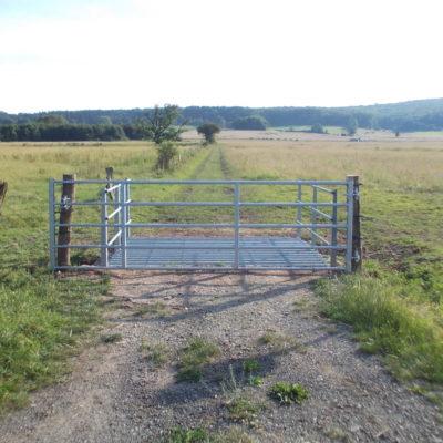 cattle grid Wilhelmsthal Ehrsten