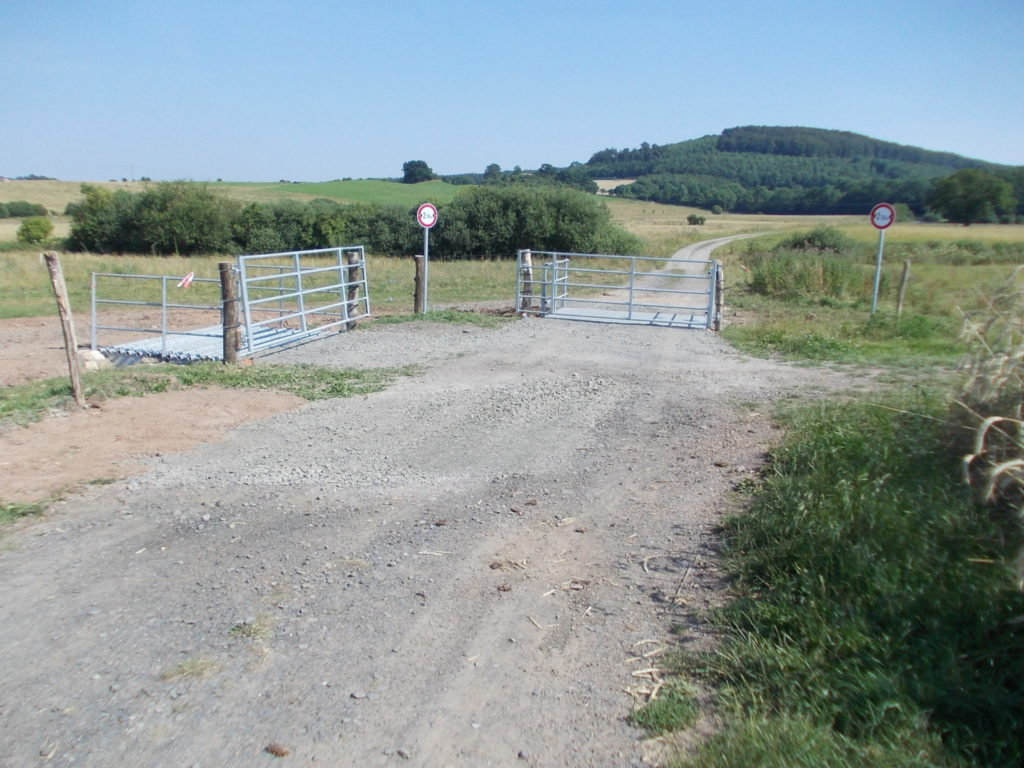 cattle grid Calden