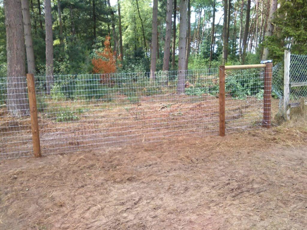 Multinet Zaun Salz Braun für Pferde und Hunde