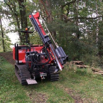 Ramme für den Zaunbau auf Golfplätzen