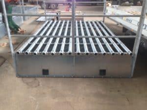ASP Schweinepest Zaunmaterial modulares System Weidezugang Rindersperre Wisenttor