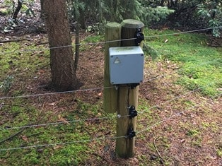 Wildschweinzaun Wildschweinschutzzaun Überwachung Alarmierung und Überwachung bei Wildschweinzäunen