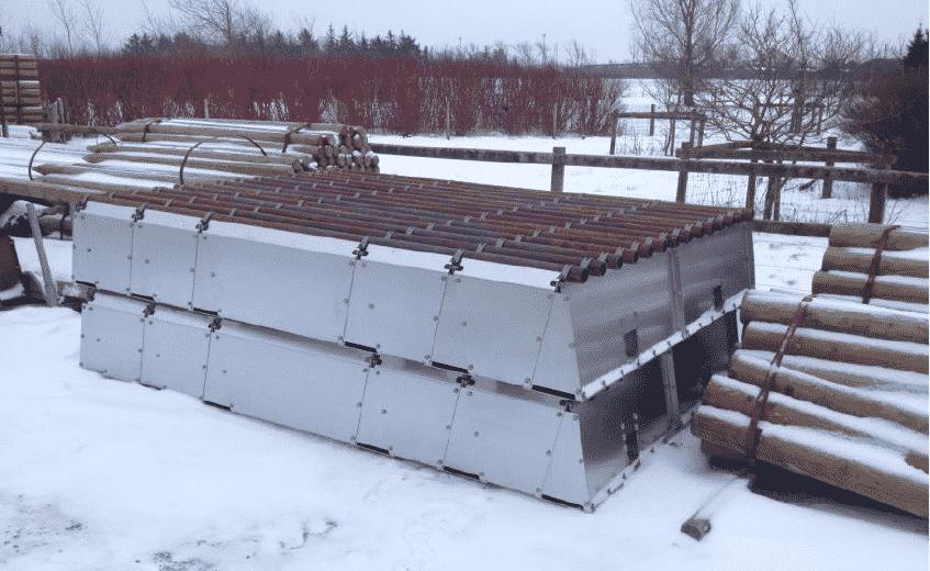 Weiderosten modulares Rostensystem Weidezugang