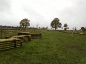 Materiallieferung zum Weidezaunbau