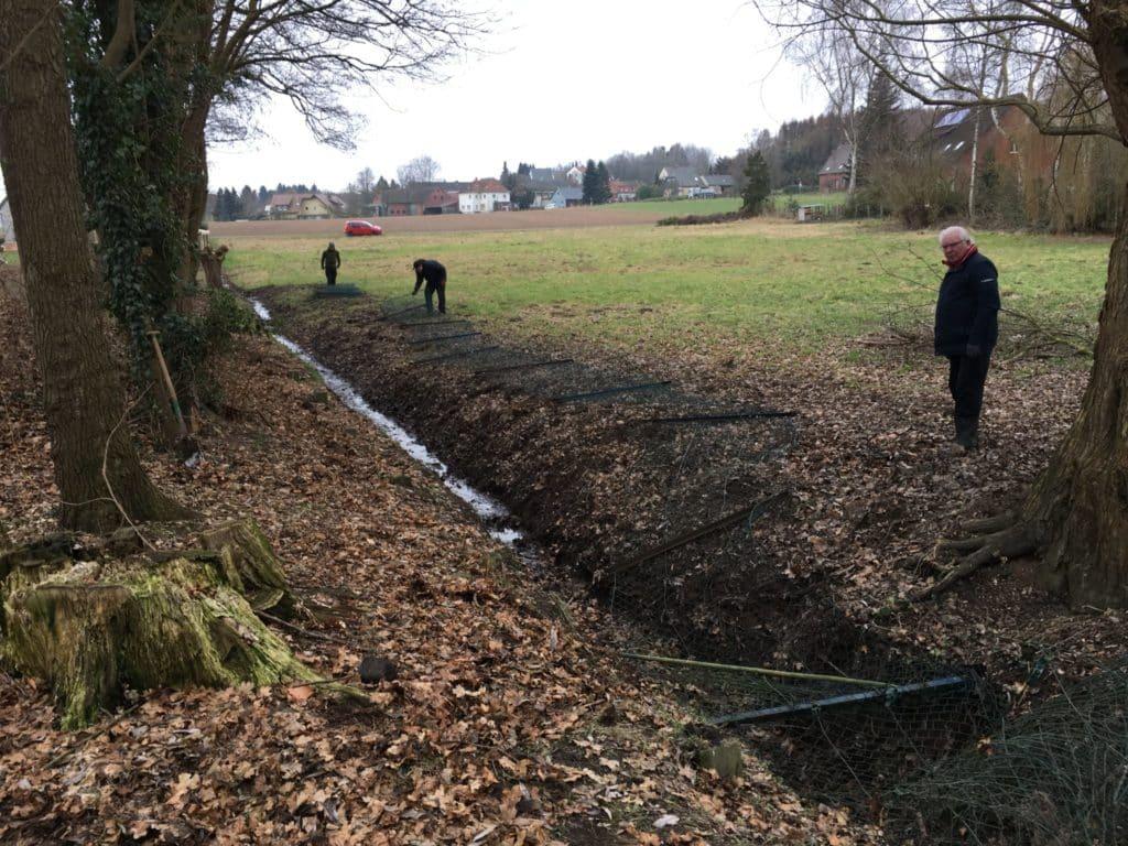 Trinkwassergewinnung Schutz der Brunnenanlage