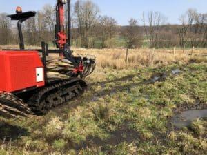 Überschwämmungsbereiche Zaun bauen
