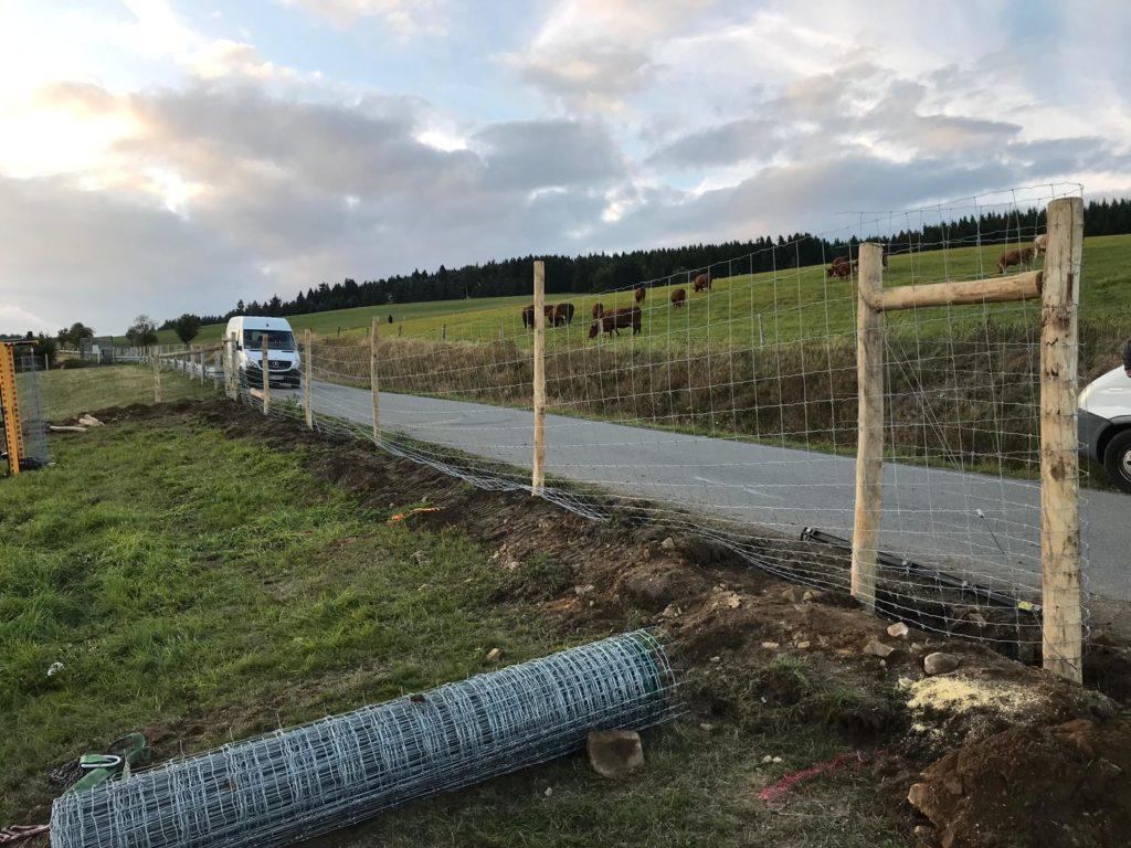Zaunbau by Axel F für Alpaka