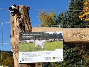 Herdenschutz für Alpaka
