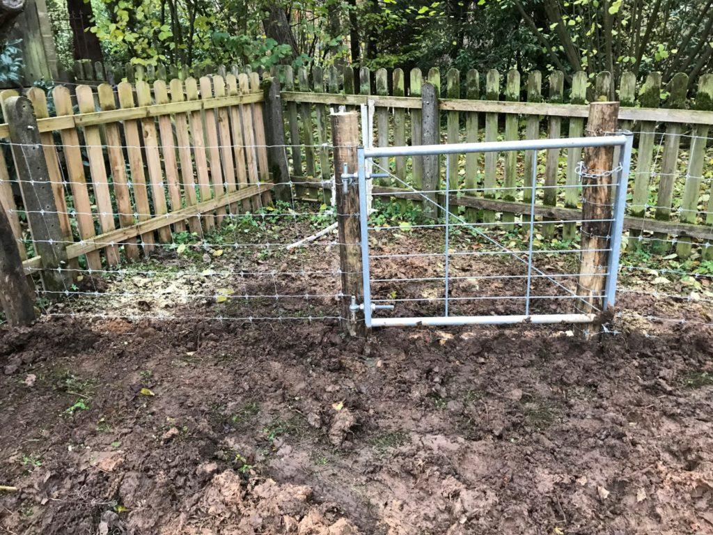 Supernet Untergrabschutz Schweinehaltung Freiland