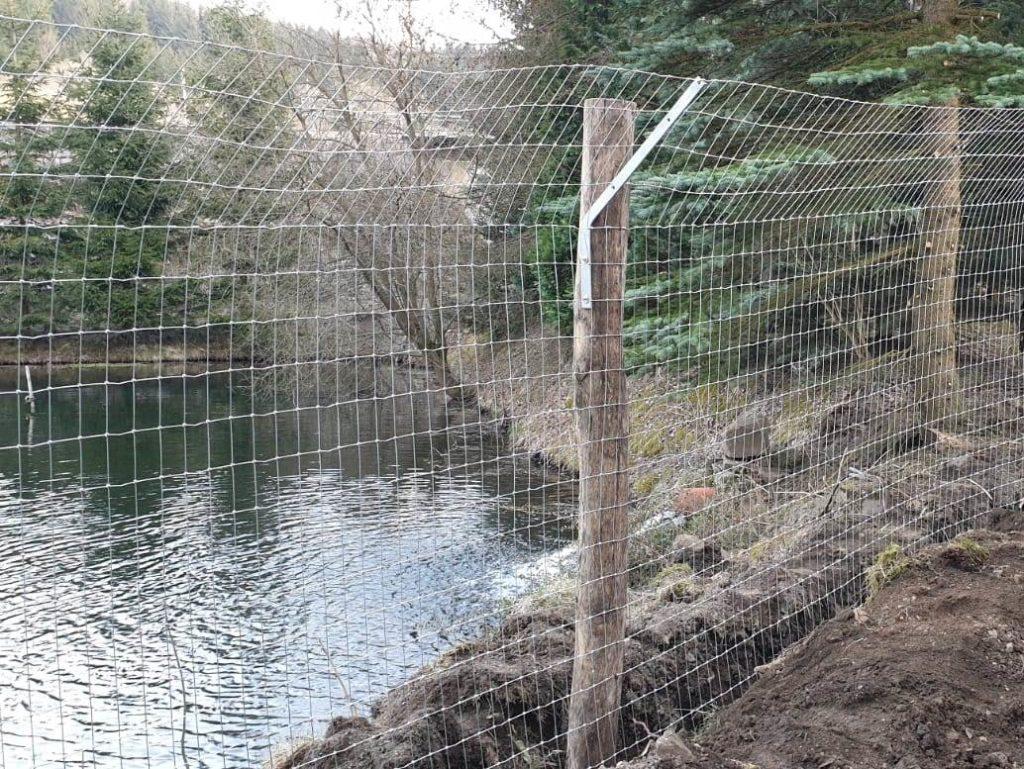 Otterschutzzaun