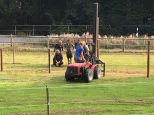Ausbildung im Zaunbau für Zoo Tierpark