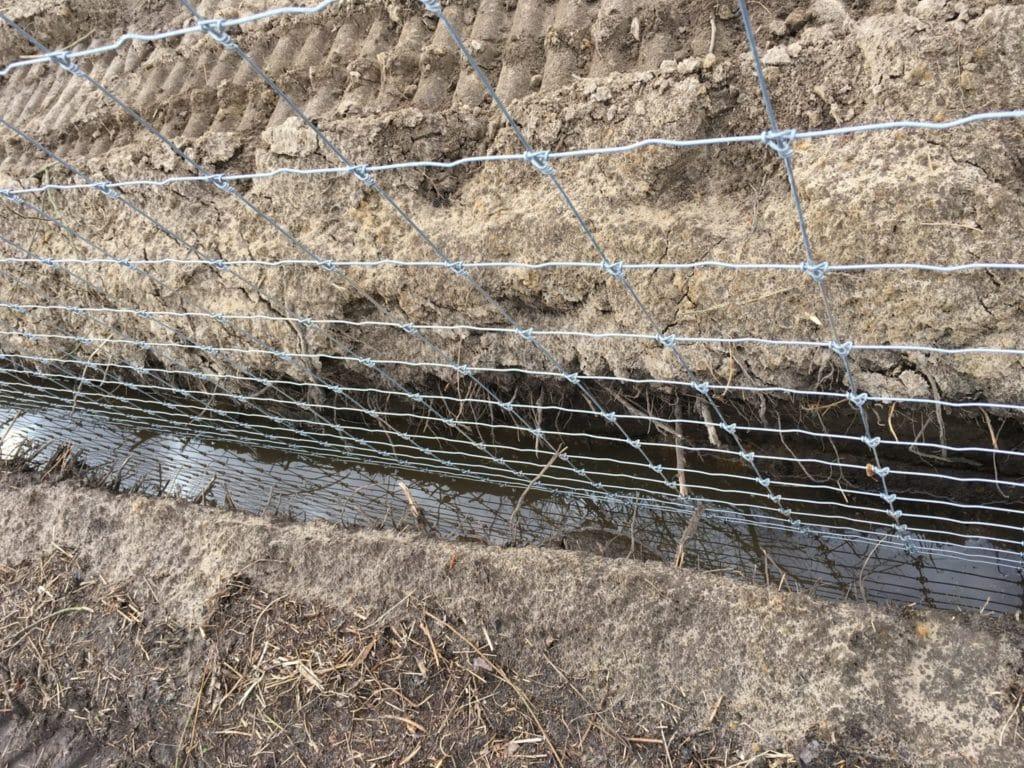 Untergrabeschutz Schwarzwildgatter Elchgeflecht