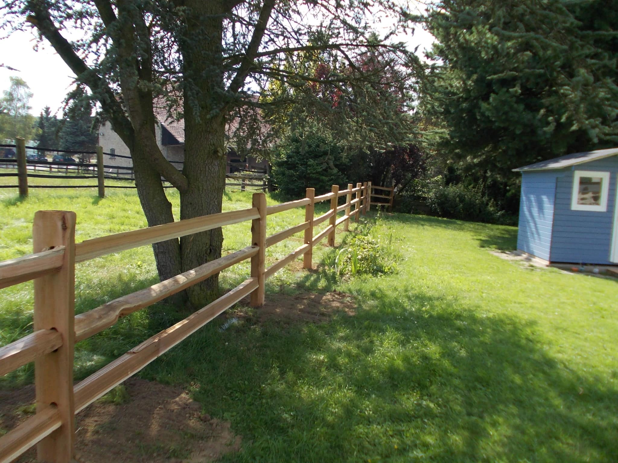 Gartenzaun Zaunbau in Lage